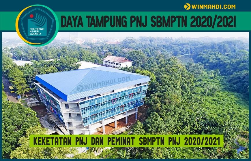 DAYA TAMPUNG PNJ SBMPTN 2020-2021