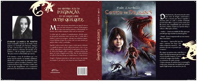Livro Capa Contos de Dragões
