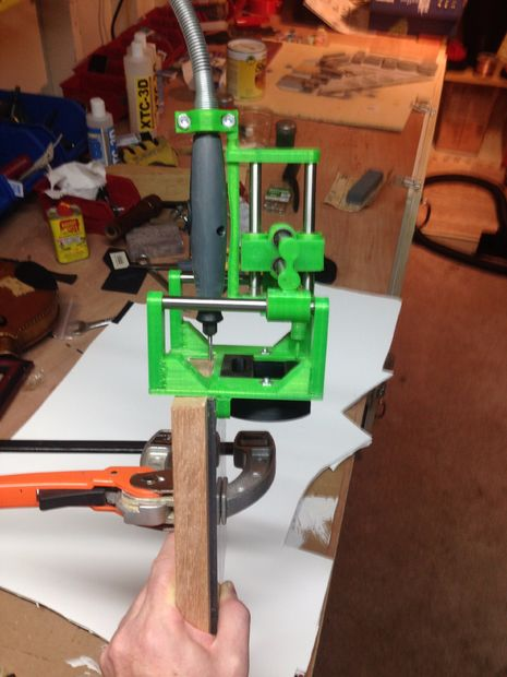 photograph regarding 3d Printable Tools known as Do it yourself 3D Printing: 3D Printable Mortise and Tenon Jig for your