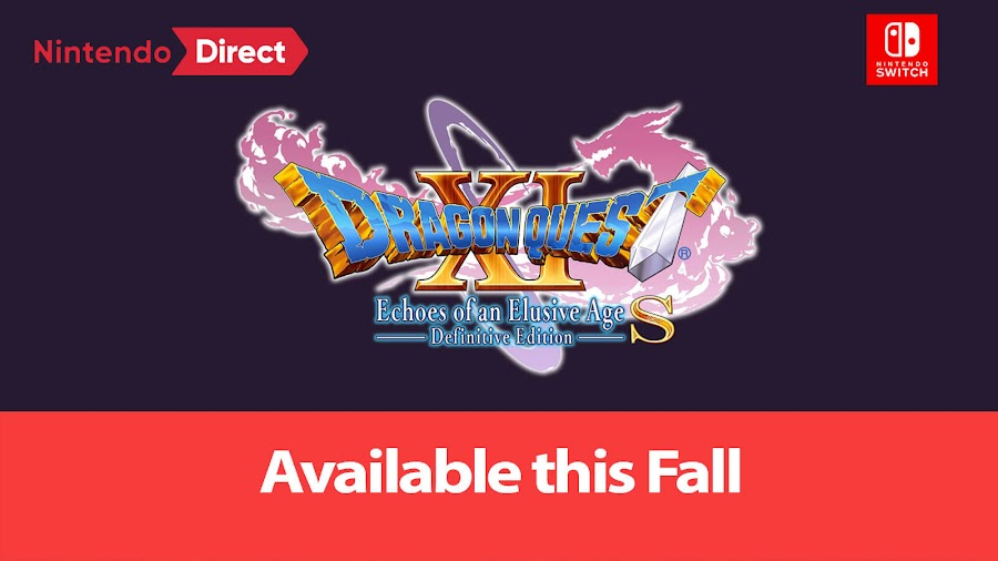 dragon quest 11 s echoes of an elusive age nintendo switch 2019