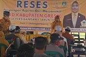 Reses, Hj Komsatun dari Fraksi Golkar Prioritaskan Tiga Aspirasi Warga Gresik Selatan