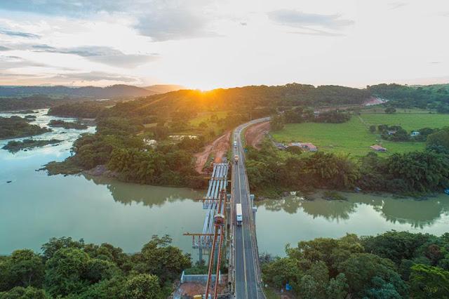 Ponte Wagner Estelita Campos, BR 050, em Catalão