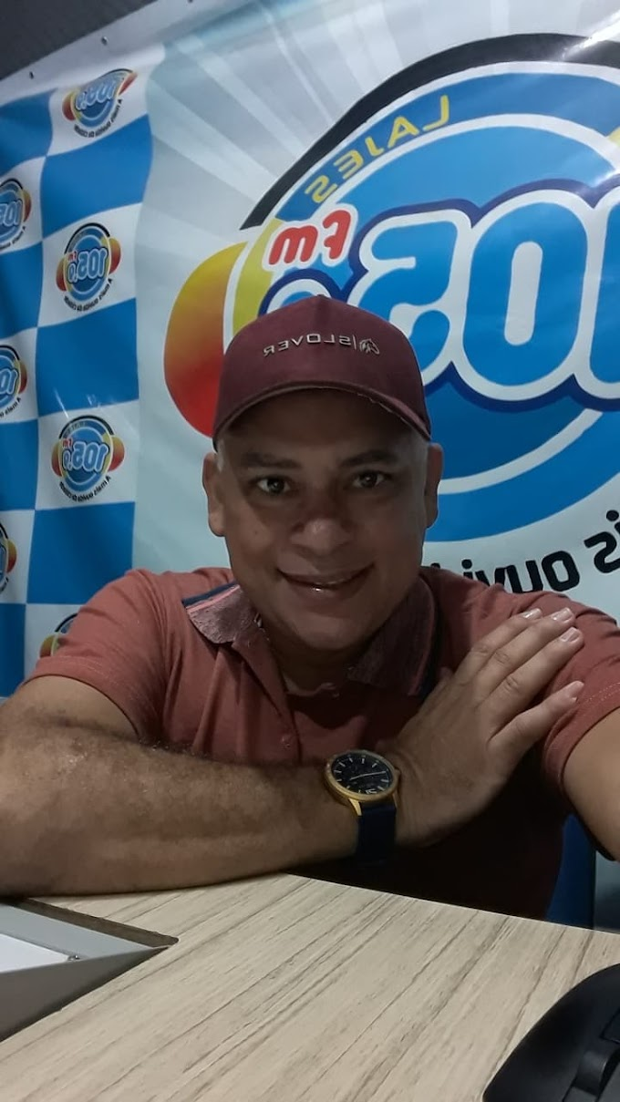 """RADIALISTA MARCOS SILVA, """"MARQUINHO SUN"""" COMPLETA 18 ANOS DE SUCESSO NO RÁDIO ACOPIARENSE"""