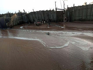 Fuveme tidal waves destruction