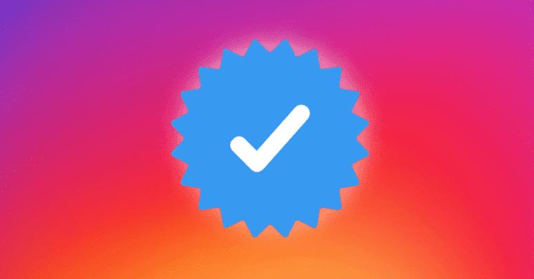 كيفية ظهور العلامة الزرقاء في حسابك علي انستاجرام
