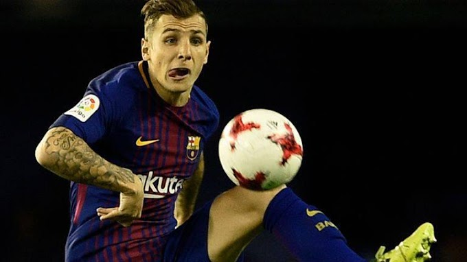 Lucas Digne speaks the different playing between Barca and Everton