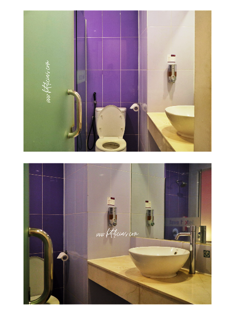 Bathroom in Funroom Fave Hotel Jogja Kusumanegara