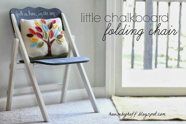 little+chalkboard+folding+chair%5B1%5D 5 Chalkboard Ideas for Fall! 18