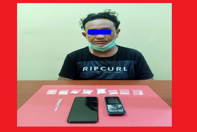 Berantas Narkoba Di Kalteng, Polda Kalteng Amankan Satu Orang di Jalan Mahir Mahar Kota Palangka Raya, Beserta Barang Bukti 14,88 gram Sabu