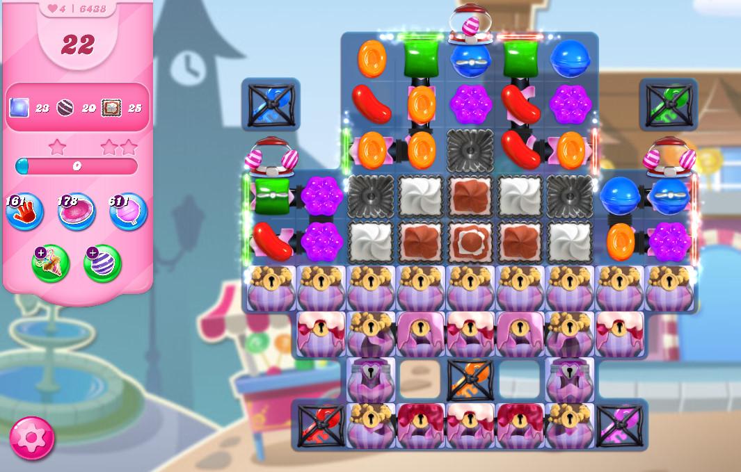 Candy Crush Saga level 6438