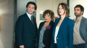 The cast of hit French comedy Call My Agent.  Copyright: Variety