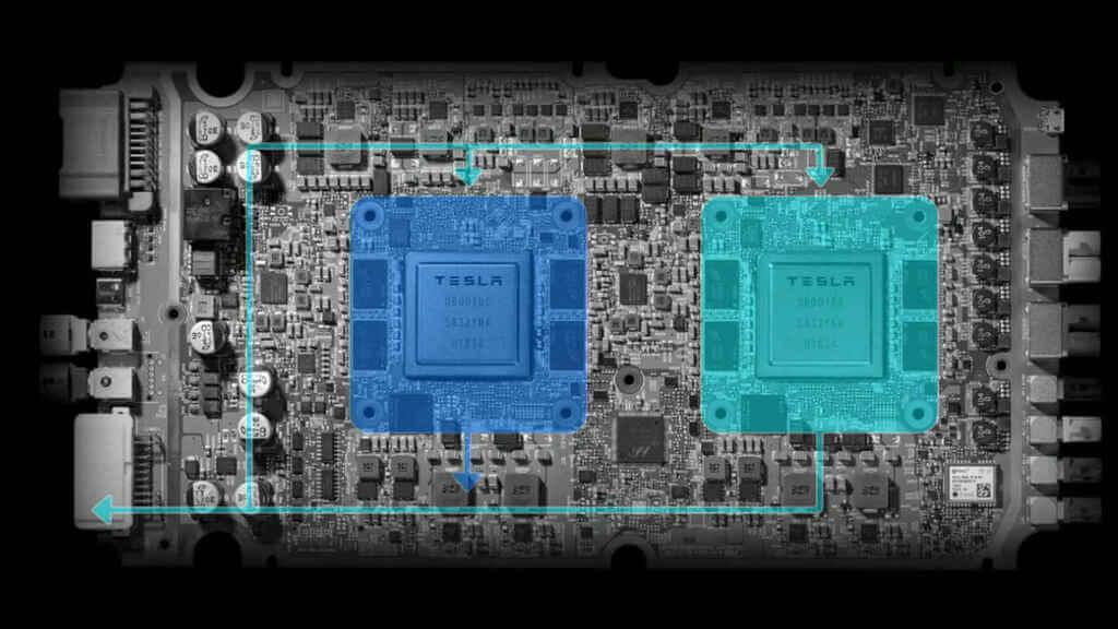 Tesla chips