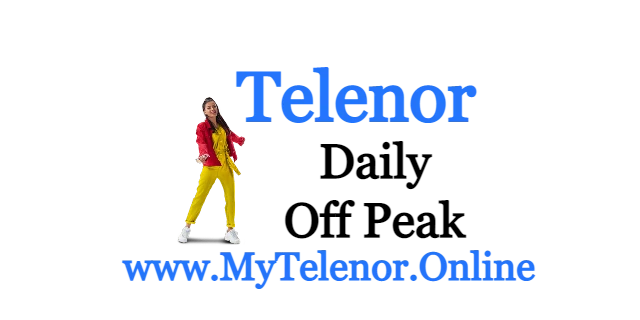 Telenor Daily Off peak Offer Price and detail | 2021