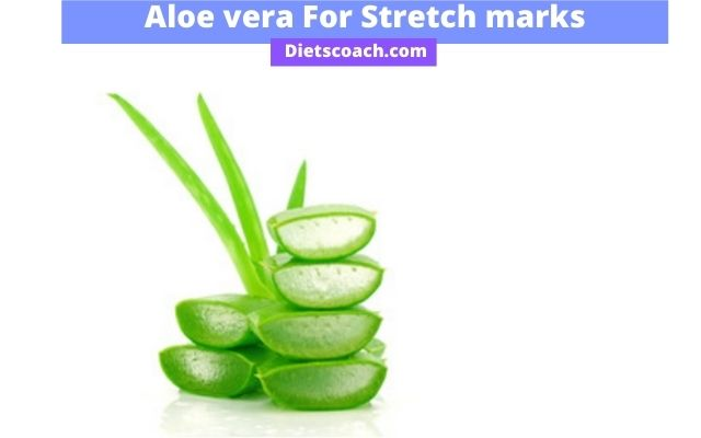 Aloe vera for red stretch marks