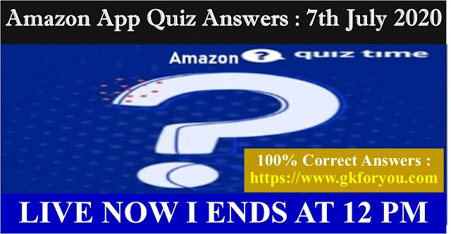 Amazon Quiz:The birth anniversary of which Indian statistician is celebrated as The National Statistics Day on June 29?