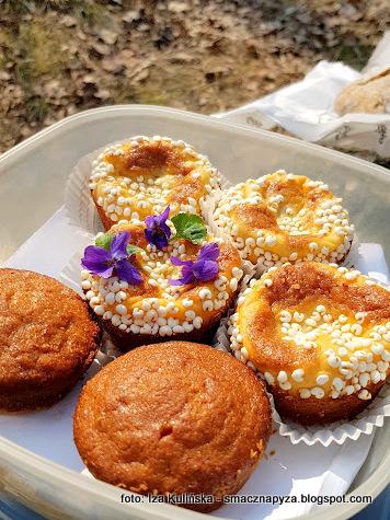 babeczka_bananowo_serowa, banany, ser_bialy, muffinki, muffinka, na_piknik, prowiant