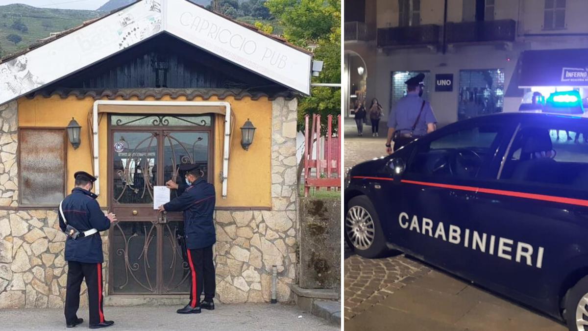 Palagonia Carabinieri bar Capriccio