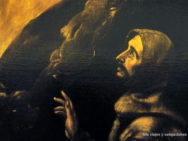 Cuadro, San Francisco en éxtasis, El Greco, Toledo