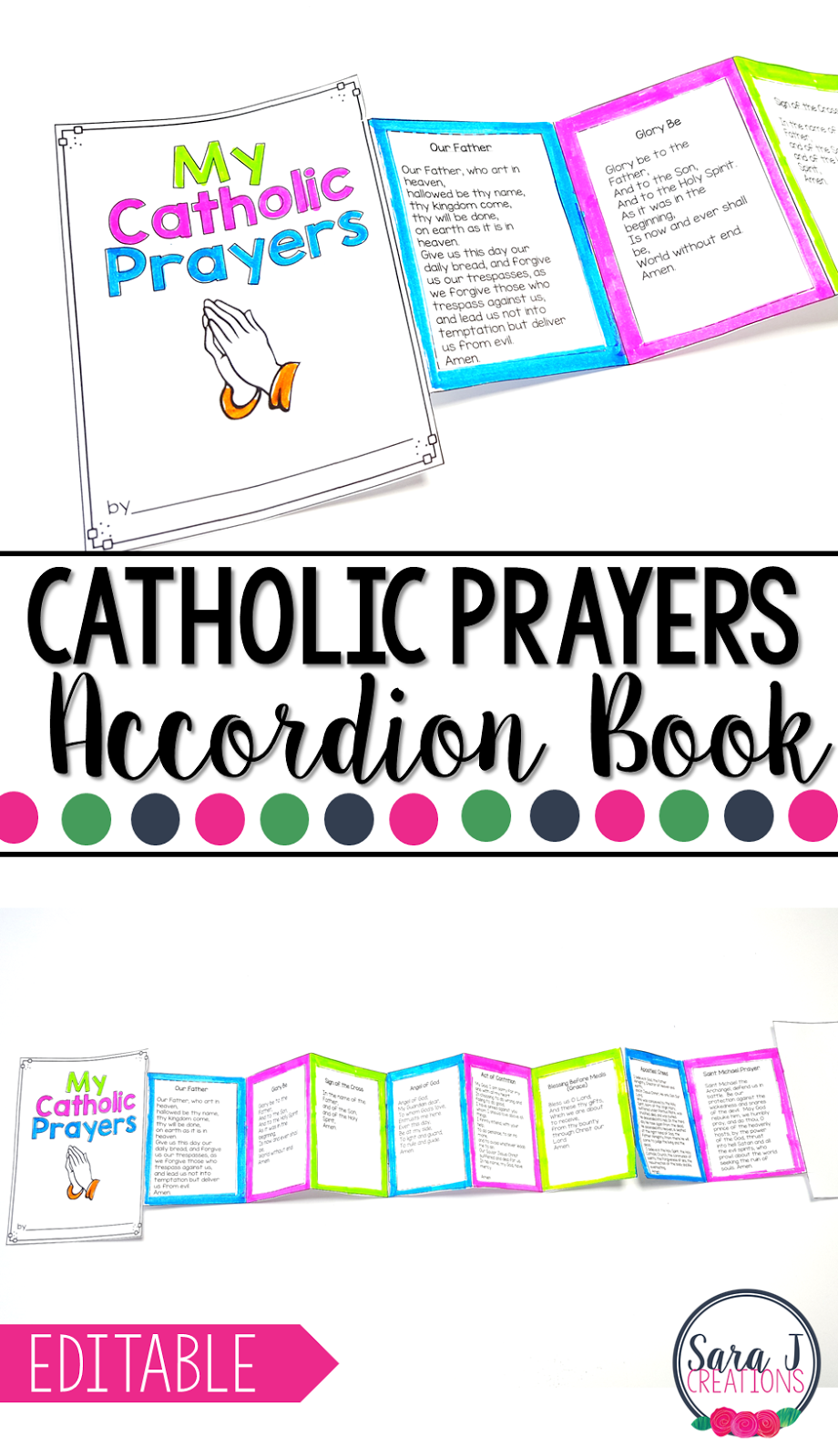 It is an image of Clever Printable Catholic Prayers