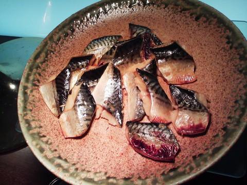 ビュッフェコーナー:鯖白みりん漬け ホテルエミシア札幌カフェ・ドム