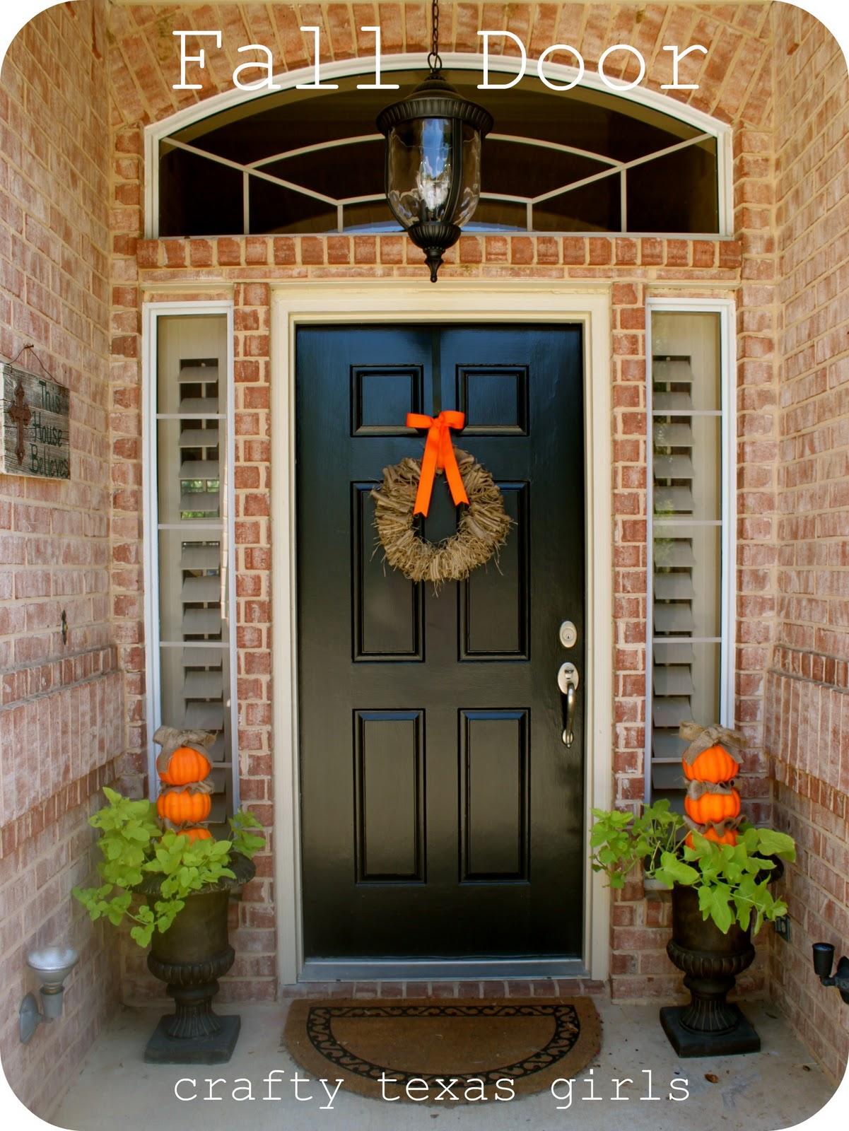 Crafty Texas Girls: Fall Door