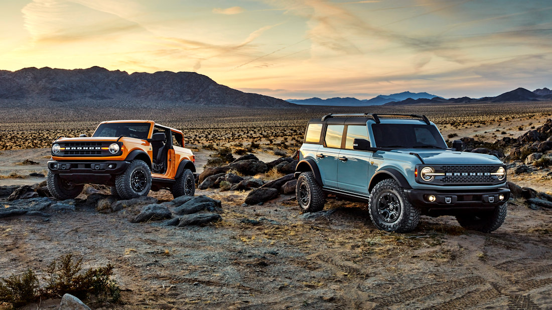 Ford Battles Jeep Wrangler With 2021 Bronco Suv Carguide Ph