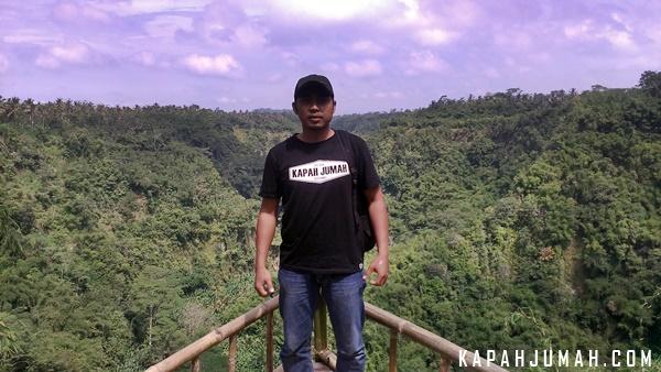 Lembah Tukad Melangit di Antugan, Desa Jehem, Kecamatan Tembuku