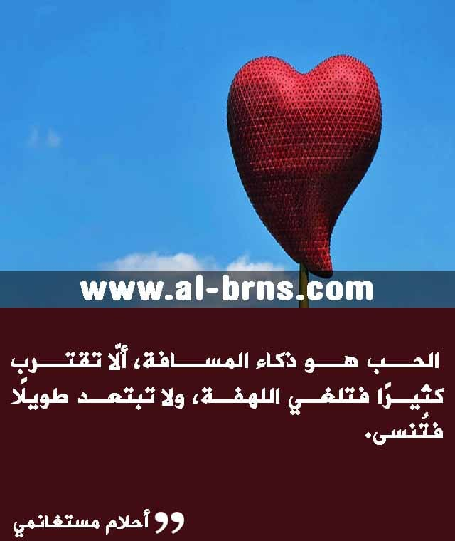 اقتباسات عن الحب والعشق والغرام والرومانسية للكبار (3)