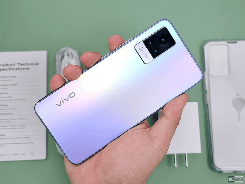 5 best features of the vivo V21 series