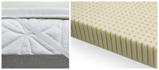 EverEden Latex Foam Mattress Topper