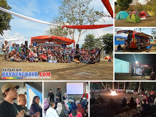 Kemah Literasi Jawa Barat 2019 di Kiarapayung