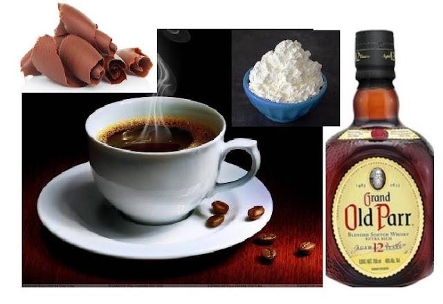 CAFÉ IRLANDÉS - IRISH COFEE