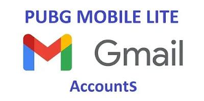 PUBG Mobile Lite account through G-Mail