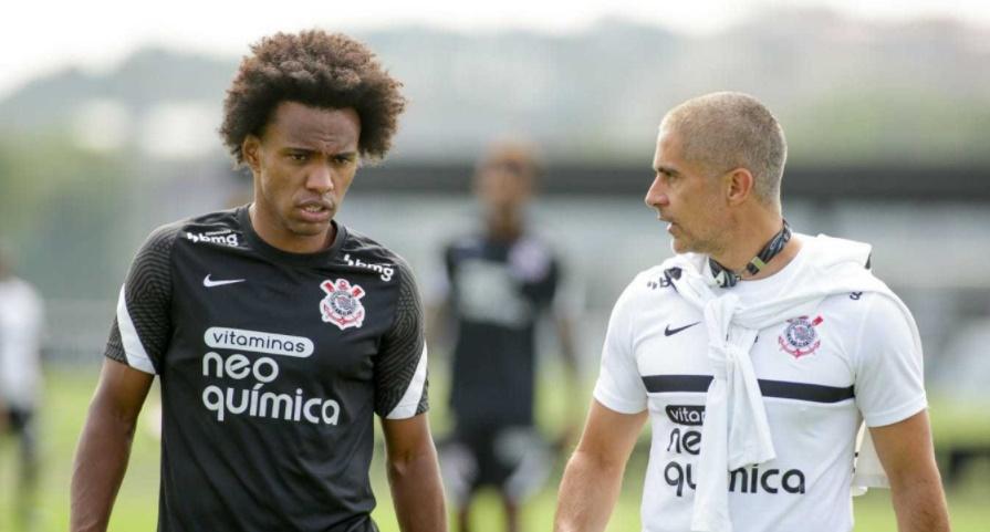 Willian estreia pelo Corinthians