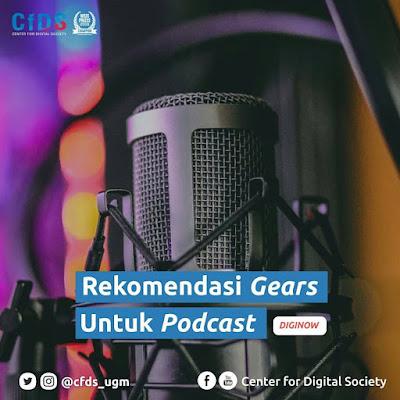 Rekomendasi alat gear podcast terbaik