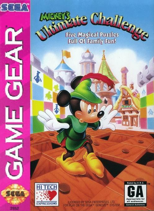 Mickey's Ultimate Challenge (USA, Europe)