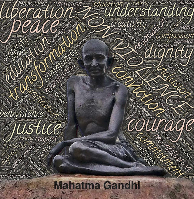 Mahatma Gandhi - the symbol of Truth and Non Violence