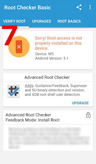 Android root access removed