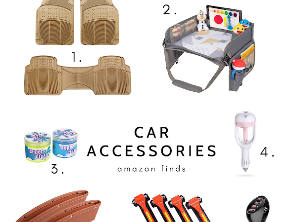 MUST HAVE CAR ACCESSORIES FOR YOUR NEXT TRIP