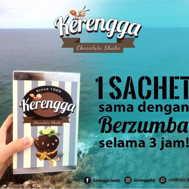 KERENGGA Chocolate Shake oleh Mediherba