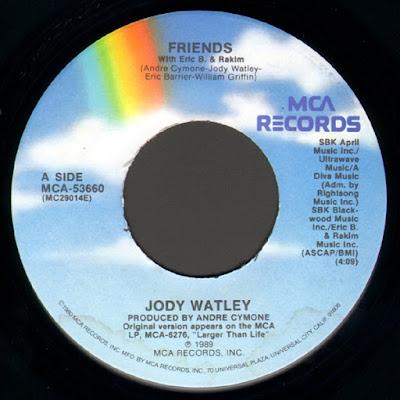 Jody Watley With Eric B. & Rakim – Friends (1989) (7'' VLS) (FLAC + 320 kbps)