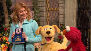 Brandeis, Elmo, Gina, Sesame Street Episode 4307 Brandeis Is Looking For A Job