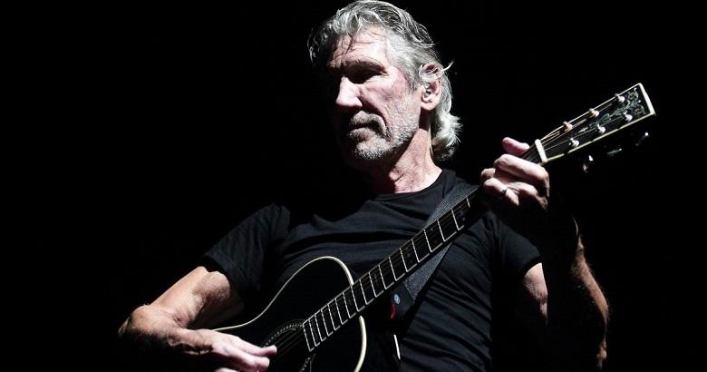 Roger Waters Musico con Guitarra