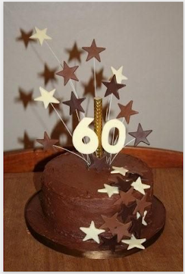 60th birthday cakes for men m8k