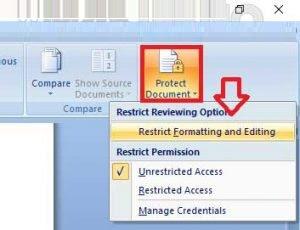 membuka file MS Word yang dikunci 3