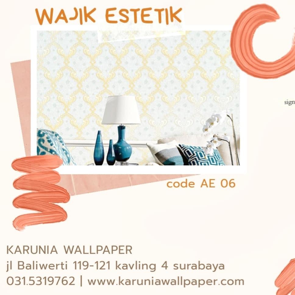 jual wallpaper dinding klasik estetik
