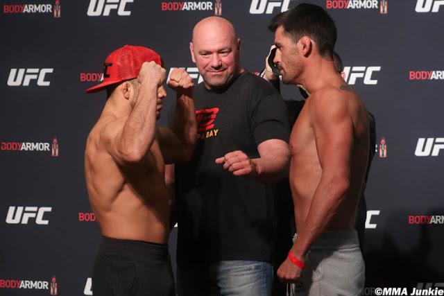 Henry Cejudo Dominick Cruz UFC 249 FaceOff