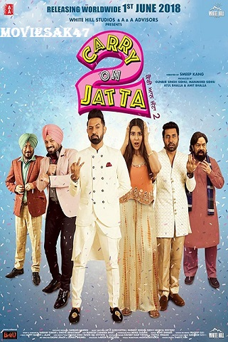 Carry on Jatta 2 (2018) Full Hindi Movie WEB-DL 480p 720p 1080p