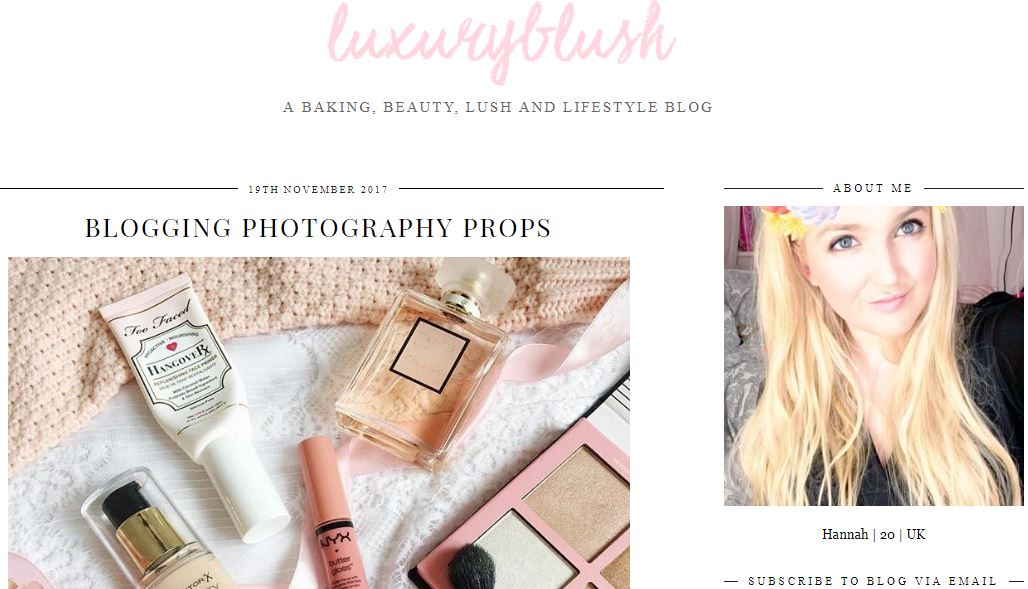 Luxury Blush Blog