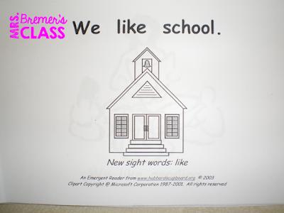Sight Word Activities for Kindergarten